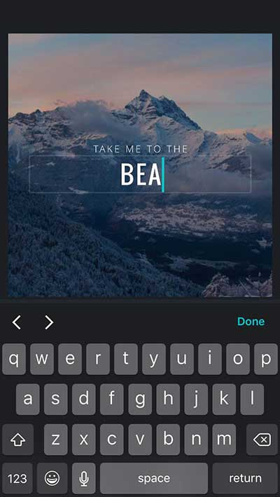 Change-the-text---Canva-for-iPhone