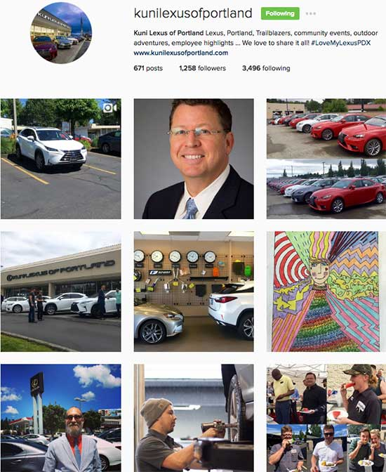 Kuni Lexus Of Portland On Instagram: 5 Smart Social Media Lessons For Small  Business From