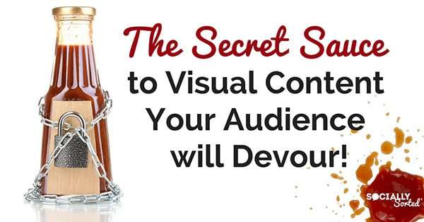 Secret Sauce to Shareable Visual Content