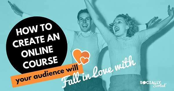 How to Create an Online Course that your Audience will Fall in Love with - including a super helpful infographIc and fun SlideShare.