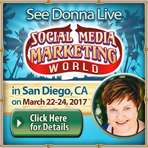Donna Moritz Speaker - Social Media Marketing World SMMW17