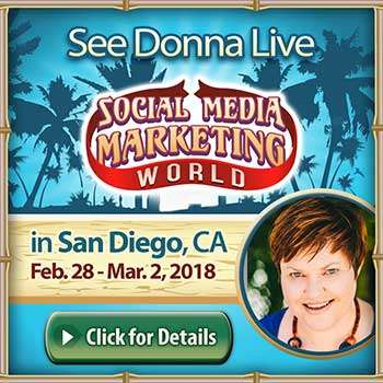 Donna Moritz - Speaker at Social Media Marketing World 2018