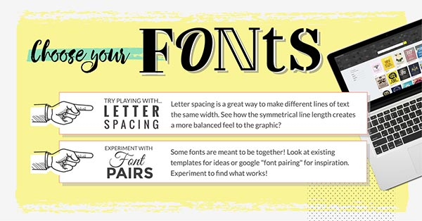 Choose Your Fonts (click to see Infographic)
