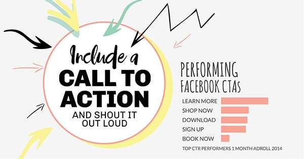 Include a Call to Action (click to see Infographic)