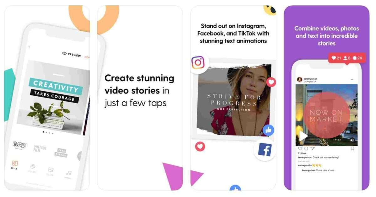 Story Swag App - one of 3 Quick and Easy Short Video Tools for Animation