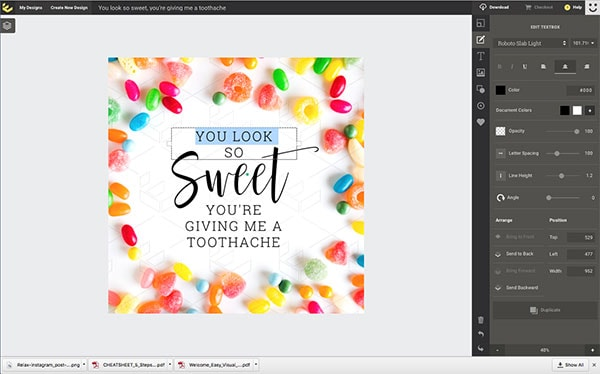 How to use templates for font inspiration - Beginner's Guide to Creating Images