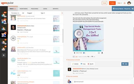 Use Agorapulse to Engage on Instagram