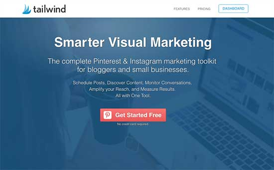 Tailwind for posting to Instagram and Pinterest - 11 Top Social Media Management Tools for Business I Can't Live Without