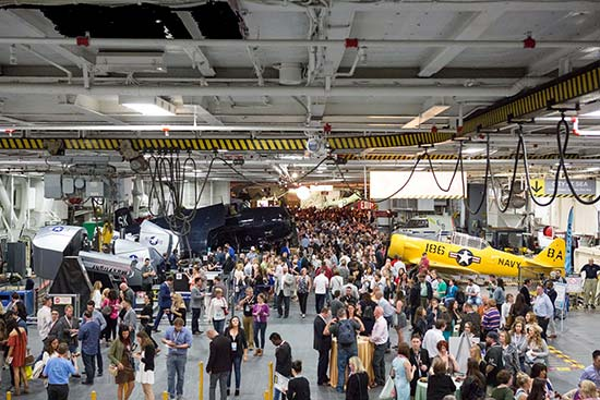 USS Midway Part at Social Media Marketing World - Social Media Marketing World 2017 - Why You Should Attend