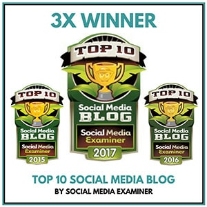 Socially Sorted Winner Top 10 Social Media Blog Competition