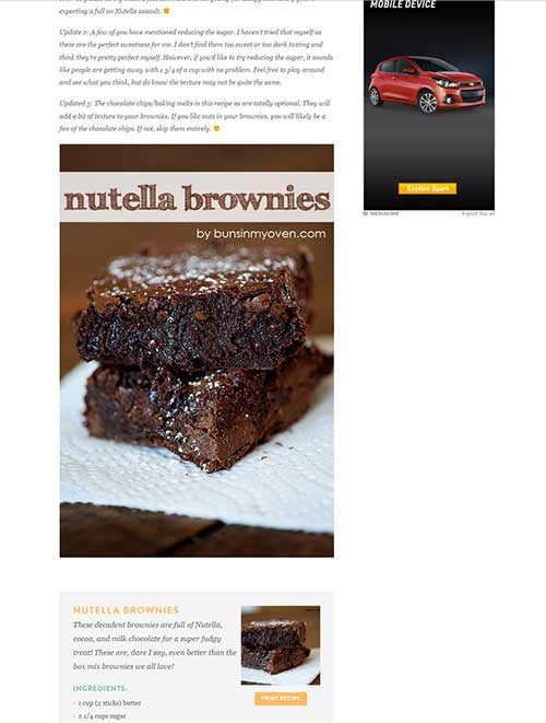 Header Images Get Shared More Often (Example from Buns in my Oven) - How to Get Started with Pinterest Marketing