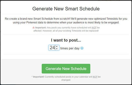 Tailwind's Smart Schedule How to use Tailwind App for Better Pinterest Marketing Results