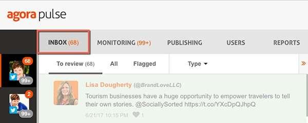 Agorapulse Inbox - 12 Reasons Why I Love Agorapulse for Social Media Management