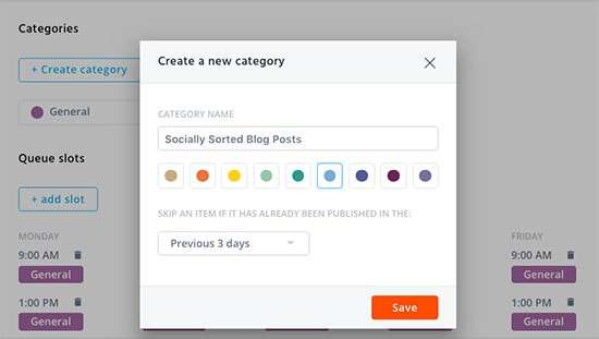 Setting up your categories in Agorapulse - Why I love Agorapulse for Social Media Management