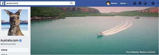 Australia Facebook Cover Video - 7 Creative Facebook Cover Videos