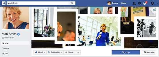 Mari Smith Facebook Cover Video - 7 Creative Facebook Cover Videos