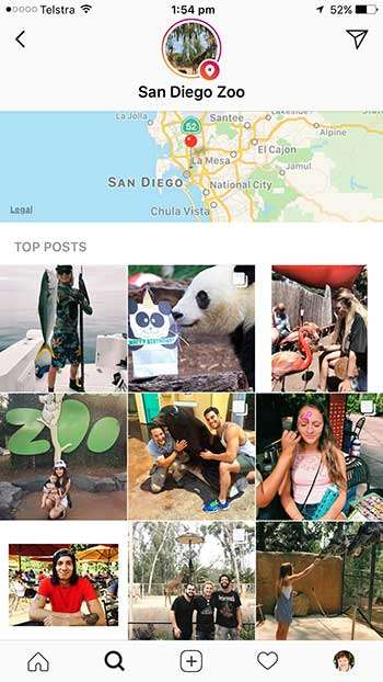 Instagram Location Stories - 7 Easy Ways To Improve Instagram Engagement with Visuals