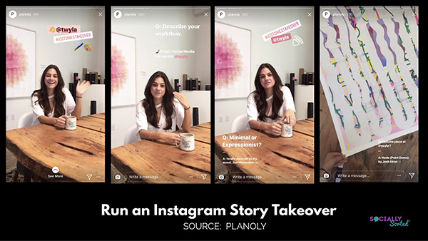Instagram Stories for Business - Instagram Stories Takeover