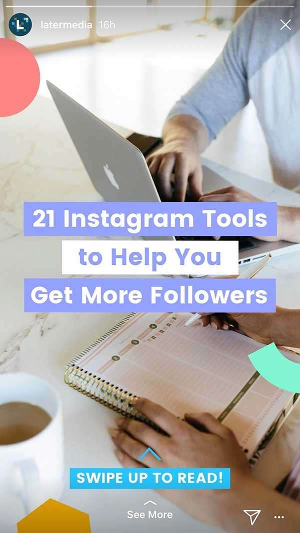 Instagram Stories for Business - Share Your Blog Post