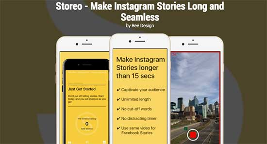 Storeo for Instragram Stories. This app will help you to share old video that's more than 24 hours old!