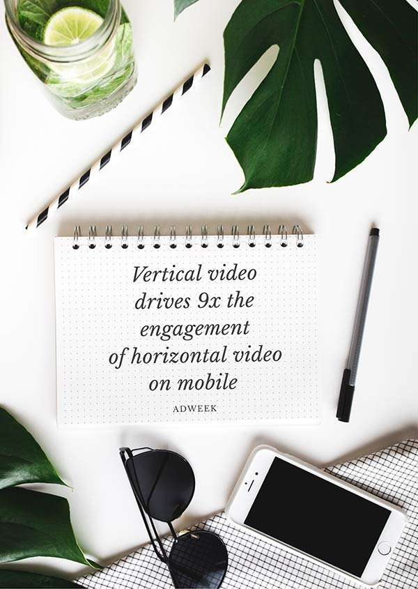 Vertical Video Drives 9x the Engagement of Horizontal Video on Mobile. Read the Full Post.