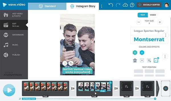 Vertical video 6 powerful ways to flip social video on its head wave instagram story format easily switch between landscape and portrait vertical video 6 ccuart Gallery