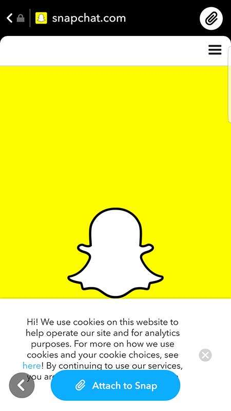 Attach a URL to your snap in Snapchat - Snapchat Beginner's Guide: How to Get Started with Snapchat Marketing