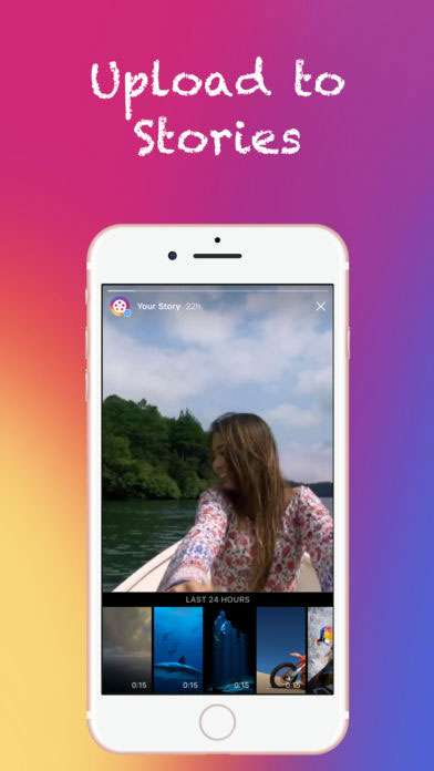 Cut Story App - upload your finished video into Instagram Stories. 5 Awesome Instagram Story Tools to Make Stories like a Pro