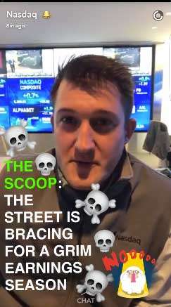 Nasdaq on Snapchat - Snapchat Beginner's Guide: How to Get Started with Snapchat Marketing