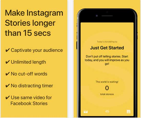 Storeo App for Instagram Stories - 5 Awesome Instagram Story Tools to Make Stories like a Pro