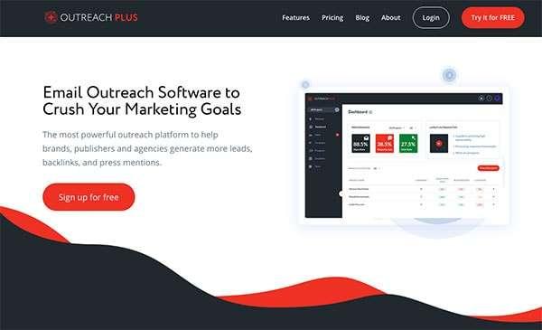 Outreach Plus Homepage
