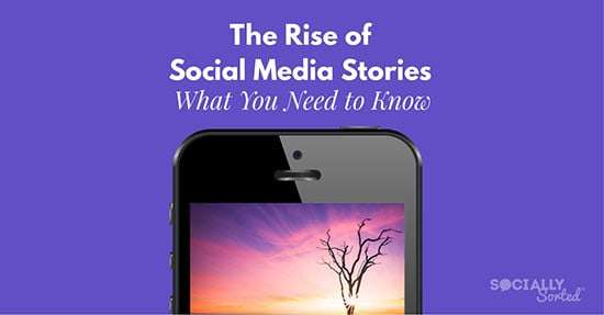 The Rise of Social Media Stories - What you need to know about Story Format