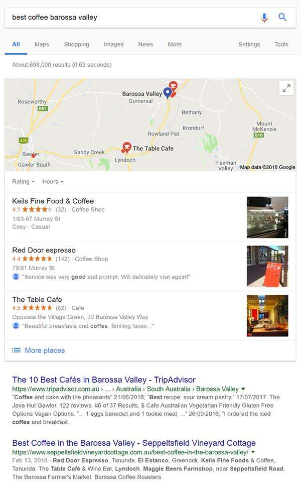 Best Coffee in Barossa Seppeltsfield Vineyard Cottage Google Search
