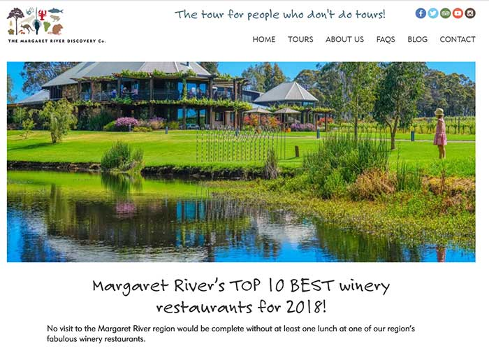 Margaret River Discovery Company Blog - Best Winery Restaurants in the Margaret River