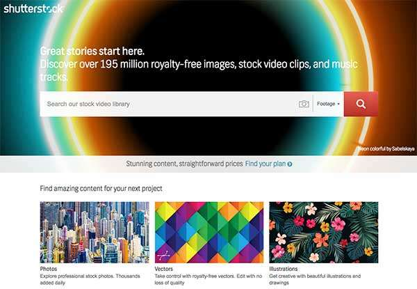 Shutterstock - How To Select The Best Stock Footage To Create Compelling Visuals For Social Media