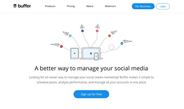 Buffer as a Meet Edgar Alternative - 4 Meet Edgar Alternatives That Will Save You Hours of Social media Time