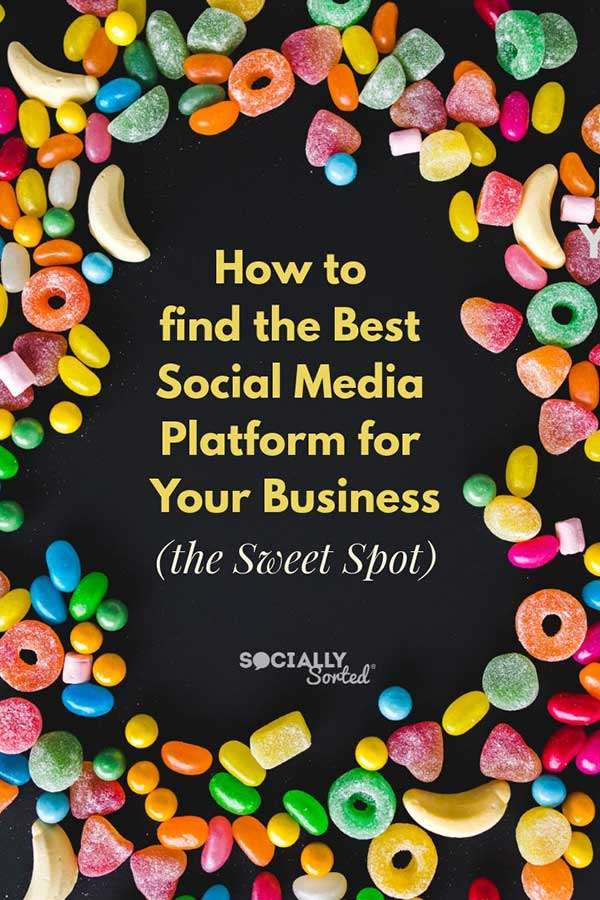 How to Find The Best Social Media Platform For Your Business (the Sweet Spot)