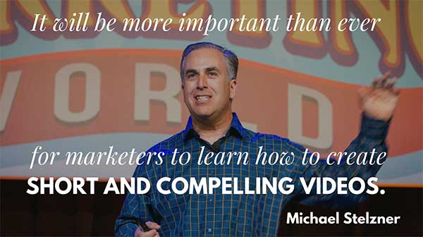 Michael Stelzner Quote about Social Video - 3 Engaging Ways to Rethink Your Social Video Strategy