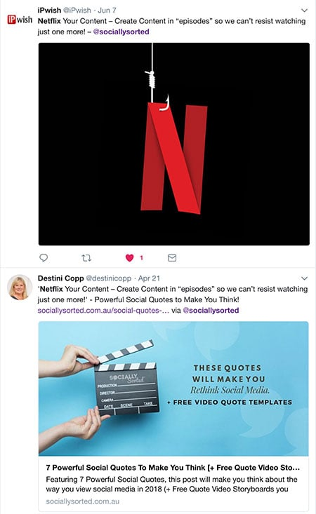 Tweets about How to Hook Us with Serial Video Content We Can't Stop Watching