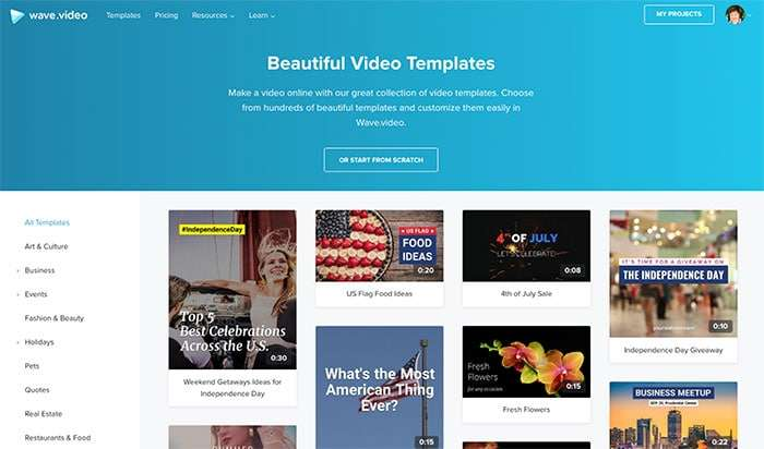 Wave Video Templates - 3 Engaging Ways to Rethink Your Social Video Strategy