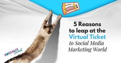 5 Reasons to Leap at the Social Media Marketing World Virtual Ticket