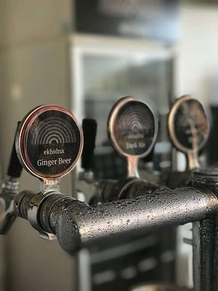 Shallow depth of field photo at Ekhidna Winery - How to Add Blur Background Effect to Smartphone Photos and Videos