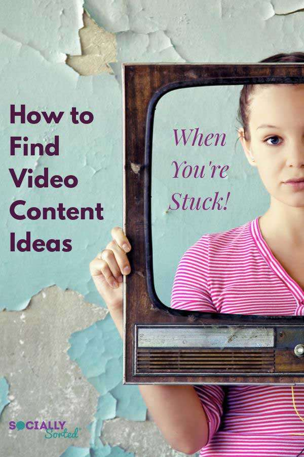 How to Find Video Content Ideas When You're Stuck for Creativity