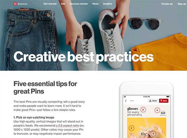 Pinterest's Creative Best Practices - 5 Ways to Get More Pinterest Traffic with Visual Content
