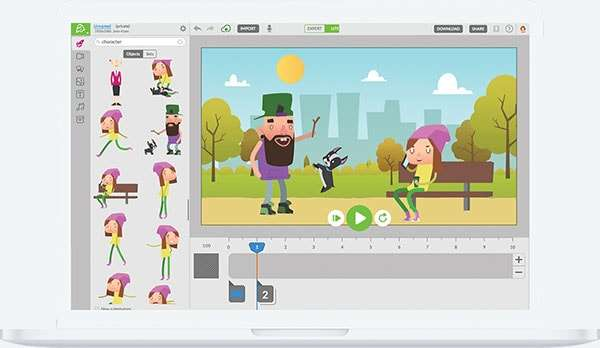 Animatron Studio screenshot - 5 Explainer Video Tools That Will Stop Us In Our Tracks