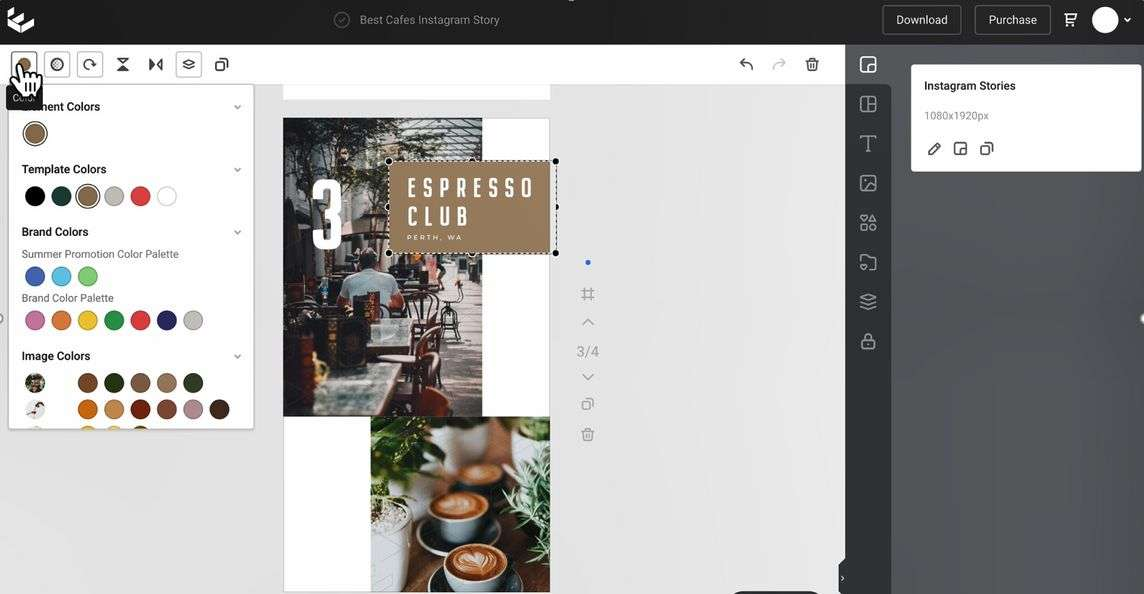 Choosing Brand Colors in Easil - 9 Best Instagram Tools for Visual Storytelling
