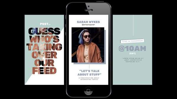 Multipage Instagram Story Templates in Easil -  9 Best Instagram Tools for Visual Storytelling