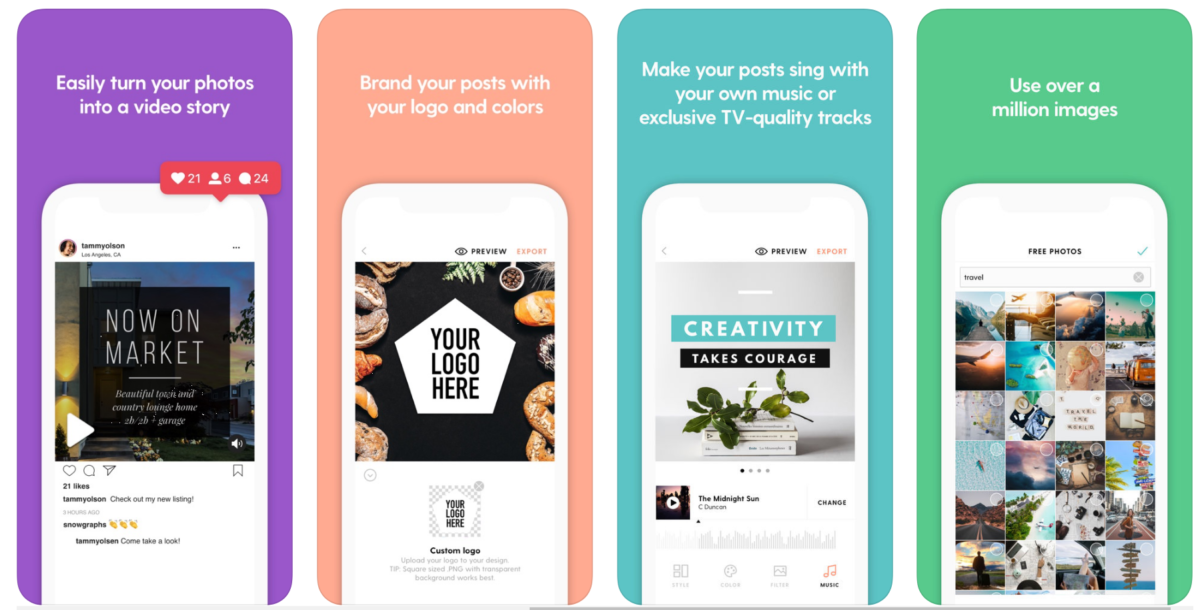 Slider from Wordswag - 9 Best Instagram Tools for Visual Storytelling