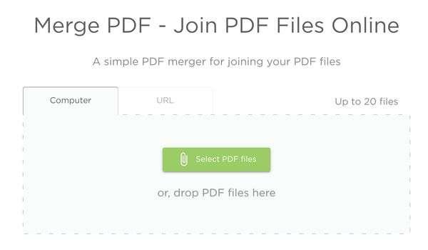 Merge PDF with Image Resize Tool