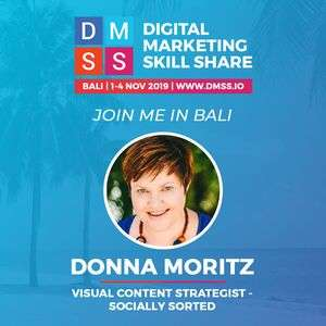Digital Marketing Skillshare Conference Bali (Donna Moritz, Speaker)